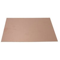 View 22-264: Single-Sided Bare Copper Clad Circuit Board 8X10 Inch