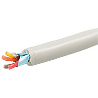 View SC4-25: Cable Shielded 4 Conductor Gray 24AWG 25 Feet