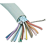 View SC9-25: Cable Shielded 9 Conductor Gray 24AWG 25 Feet