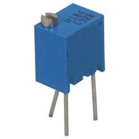 View 3266W-1-501: 3266 Resistor Trimmer Cermet 12 Turn 0.25W 500 Ohm