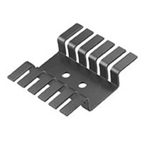View 507222B00000G: Heat Sink Passive TO-220 9.6°C/W Black Anodized
