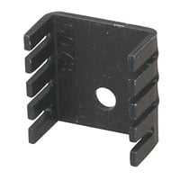 View 507302B00000G..: Heat Sink TO-220 1 Hole 0.75 Inch X0.36 Inch X0.75 Inch
