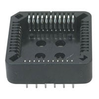 View PLCC-44-AT.: 4000 Socket Plcc 44PIN Solderight Angleail