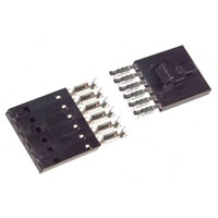 View 103957-5: 6 Contact Female Two Part Board Connector