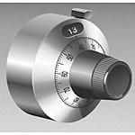 View H-22-6A: Knob 0-20 Turns Counting Dial Rotary with Brake 1/4 Inch Shaft<A