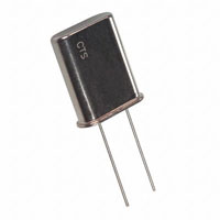 View MP040: QUARTz Crystal Resonator 4 MHz (Frequency Control)