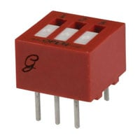 View 76RSB03ST: Switch DIP Dipswitch SPST Sideactuated (Upison) 12POSI