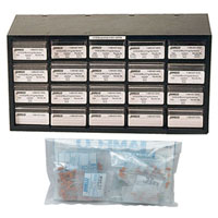 View 81859: 520 Piece 50V Ceramic Disc Capacitor Kit ±20% +10°C to +85°C