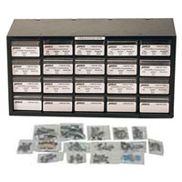 View 81867: 240 Piece Radial Electrolytic Capacitor Kit ±20% +85°C