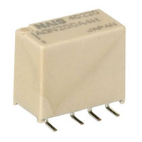 View AGN200A4H: AGN Electromechanical Relay Double Pole (Miniature)