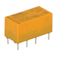 View DS2E-S-DC5V: DS Small PC Mount Relay Contact Form: DPDT (Miniature)