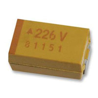 View TAJA106K016RNJ.: TAJ Capacitor Molded Surface Mount Tantalum 10uf 16V 10% a Case