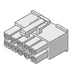 View 39-01-2245: Connector Housing Receptacle 24 Position 4.2MM Straight Bag Housftg