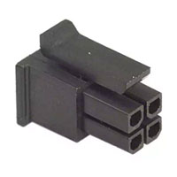View 43025-0400: 43025 Connector Housing Receptacle 4 Position 3MM Straight Bag :