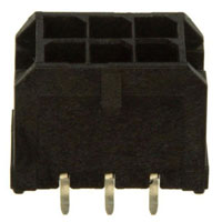 View 43045-0613: 43045 Microfit 3.0 Vert Thrhole DR 15AU 6 CKT (Rectangular Connectors)