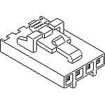 View 50-57-9408: Connector Housing Female 8 Position 2.54 Mm Crimp Straight Cable Mount SL™