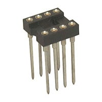 View 6100-8W-R: 6100 Socket IC 8PIN Machine Tooled Wire Wrap