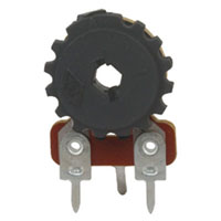 View 158-100K-R: Potentiometer 19/32 Inch Trim 1/4W (Trimmer)