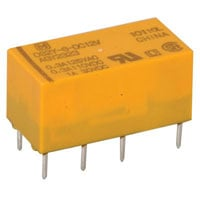 View DS2Y-S-DC12V: Electromechanical Relay Double Pole Contact Form: DPDT (DIP)