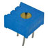 3386P-1-205/63P205: Potentiometer 3/8 Inch Square Single-Turn Cermet