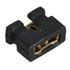 2.0 MINI JUMPER OPEN-R: Socket Shortng Blks 2MM BLK Open
