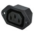 Faston AC Power Connectors Receptacles