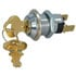 IG-406D-2341: SPST Round Keylock Switch