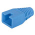 TMP-SR020-BLUE-R: RJ45 Plug Color Cap/Boot Round Strain Relief