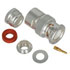 31-3301: Cable Terminated Male BNC Connector Clamp Solder Plug