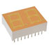 LTD-6610E: Displays Panel 2 Digit 16 LED Orange CA 18 Pin DIP (7 Segment)