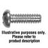 PRH4-40X3/16: Philips Round Head Machine Screws