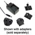 GE24I24-P1J: GE24 Interchangeable Clip AC-to-DC Wall Adapter