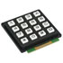 AK-1604-N-BWB: 16 Key Keypad -Matrix Output (Switches)