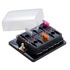 Fuse Auto For Multi-Fuse 10Pos LED Ind. Dust Cvr 0.25 Qc Term