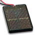 Solar Cell 0.5 Volt 800mA 2.6 Inch x 3.7 Inch x 0.2 Inch Red-Black Leads