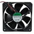 EEC0381B2-0000-A99: 12 Volt DC Brushless 120MM Fan 116 CFM Ball Bearing
