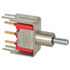 7105MD9V3BE: SPDT Toggle Switch 0.4V Rating: 0.4V @ 20V AC/DC