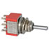 7213SCWZQI: DPDT Toggle Switch 5A 120VAC Rating: 5A @ 120VAC