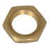 31-10495-NA(BRASS): 3/8 Inch -32 Brass Plated Hex Nut (Hardware)