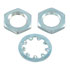 3/8-32HDWR: 3/8 Inch Hardware 2 Hex Nuts, NEF Thread