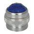 81-0434-300: Convex Mini PMI Cap Lens Color: Blue (IrLED)