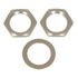 7/16-32HDWR: 2 Hex Nuts 1 Flat Washer 7/16 Inch Screw Hardware Assembly