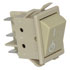 DPST On-Off Panel Mount Rocker Switch 16A 250VAC