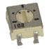23BR1K-TR: POT 4MM Cermet 1K 1/4W 20%, (Variable Resistors)