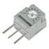 25VR200K: POT 1/4 Inch SQ Cermet 200K .5W 20% (Potentiometers)
