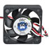 4010-12-HBHA: 12 Volt DC 40MM Brushless Tubeaxial Fan