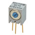 62PAR200: POT SQ (9X7X7) Cermet 200 .5W 10 (Potentiometers)