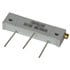 Rectangular Cermet Potentiometer 1 & 1/4 Inch 100K Ohm 10%