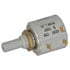 7297R10K-L.25: 7/8 Inch Round Precision Potentiometer 10K Ohms 5% Bushing Panel Mount