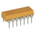 4114R-001-221: Thick Film Molded DIP Resistor Network